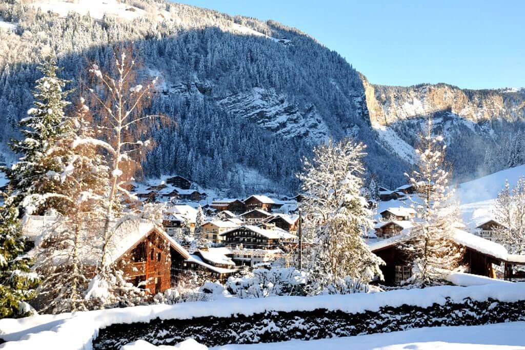G Apartment Montagnes Winter 2